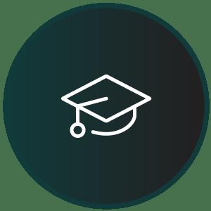 Undervisning og barnehage, ikon